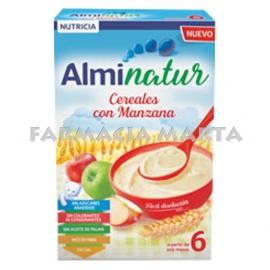 ALMINATUR CEREALS AMB POMA 250 GR