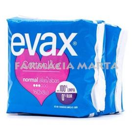 EVAX COMPRESA COTTON NORMAL ALES 16 UNITATS
