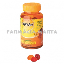SUPRADYN ACTIVO GUMMIES ADULTS 50 UNITATS