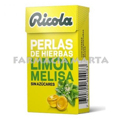 RICOLA PERLES LLIMONA MELISA