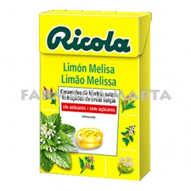 RICOLA CARAMELS LLIMONA MELISA CAIXA