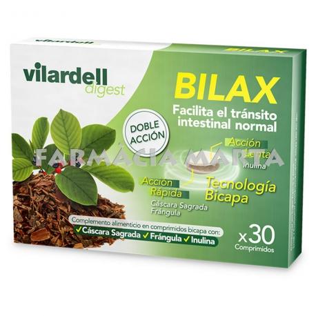 VILARDELL DIGEST BILAX 30 COMPRIMITS