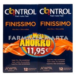 CONTROL FINISSIMO 12 PRESERVATIUS DUPLO