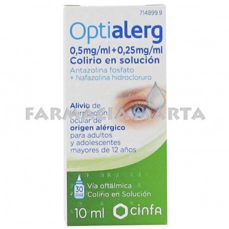 OPTIALERG GOTES OFTÀLMIQUES 10 ML