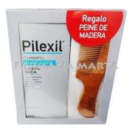 PILEXIL XAMPÚ ANTICASPA CASPA SECA 300 ML