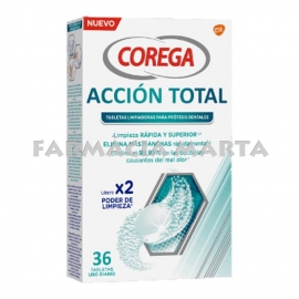 COREGA ACCIÓ TOTAL 36 TABLETES