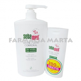 SEBAMED LLET CORPORAL 750ML + SEBAMED LLET CORPORAL 200ML GRATUÏT