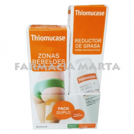 THIOMUCASE KIT REDUCTOR DE GREIX STICK 75ML + CREMA 200ML