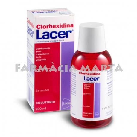 LACER CLORHEXIDINA COL.LUTORI 200 ML