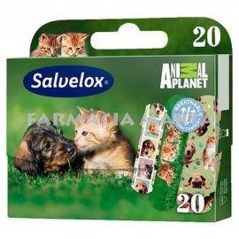SALVELOX ANIMAL PLANET 20 UNITATS