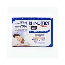 RHINOMER BREATHE RIGHT TIRES NASALS TALLA GRAN 30 UNITATS