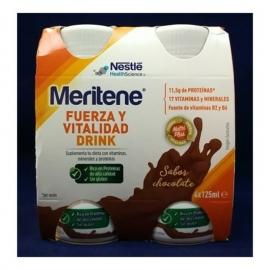 MERITENE DRINK VAINILLA 4X125 ML