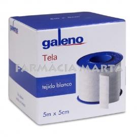 ESPARADRAP TELA BLANC GALENO 5m X 5cm