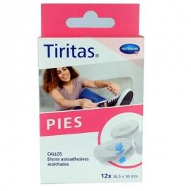 TIRITAS PIES ULLS DE POLL 12 UNITATS 26.5x18mm