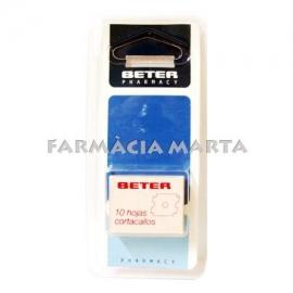BETER RECANVI FULLES 10 UNITATS